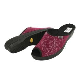 Befado női cipő pu 581D195 piros sokszínű 4