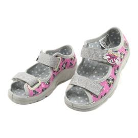 Befado gyermekcipő 969X162 rózsaszín ezüst 3