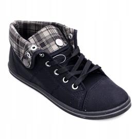Magas cipők Konwers DD52 fekete 1