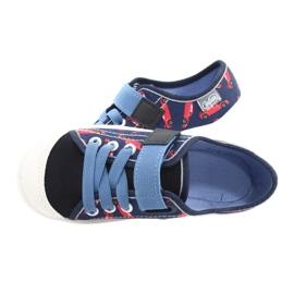 Befado gyermekcipő 251X160 piros haditengerészet kék 5