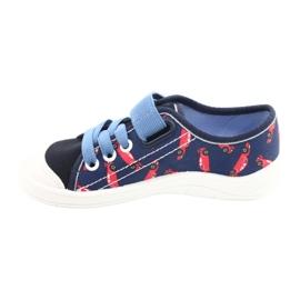 Befado gyermekcipő 251X160 piros haditengerészet kék 2