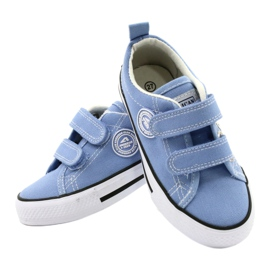 Amerikai kék cipők American Club LH64 / 21 4