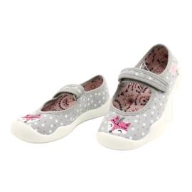 Lányos balerinák BLANCA BEFADO 114X425 fehér rózsaszín szürke 1