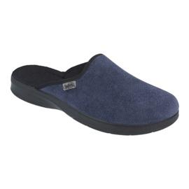 Befado férfi cipő pu 548M018 fekete haditengerészet 1