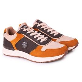 NEWS Férfi sportcipők Sárga-barna Harold cipők sokszínű 1