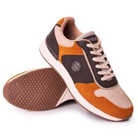 NEWS Férfi sportcipők Sárga-barna Harold cipők sokszínű 2