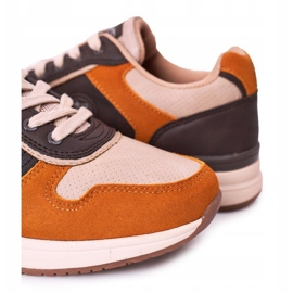 NEWS Férfi sportcipők Sárga-barna Harold cipők sokszínű 3