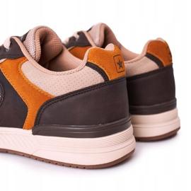 NEWS Férfi sportcipők Sárga-barna Harold cipők sokszínű 5