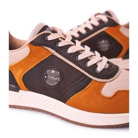 NEWS Férfi sportcipők Sárga-barna Harold cipők sokszínű 6