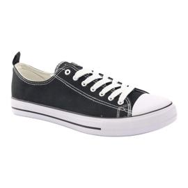 Fekete American Club LH03 cipők 1