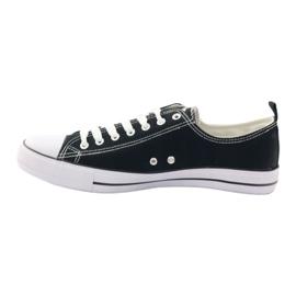 Fekete American Club LH03 cipők 2