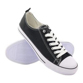 Fekete American Club LH03 cipők 3