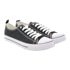Fekete American Club LH03 cipők 4