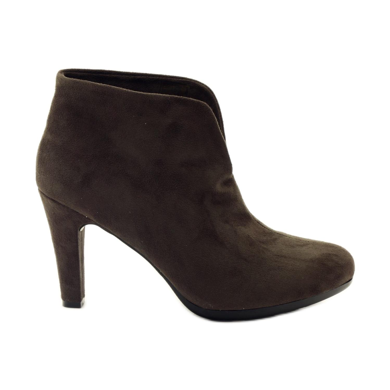Barna női cipő Hengst 214702